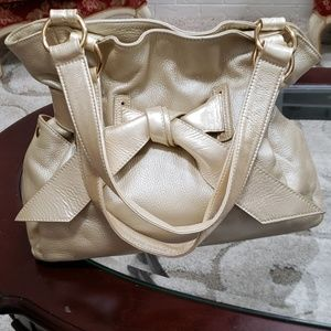 Tiffany & Fred made in Paris  leather large bag